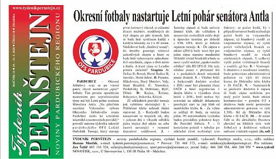 Okresní fotbaly nastartuje Letní pohár senátora Antla