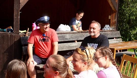 Déčkoviny na táboře v Sedloňově bojují se zločinem a Mafií :-)