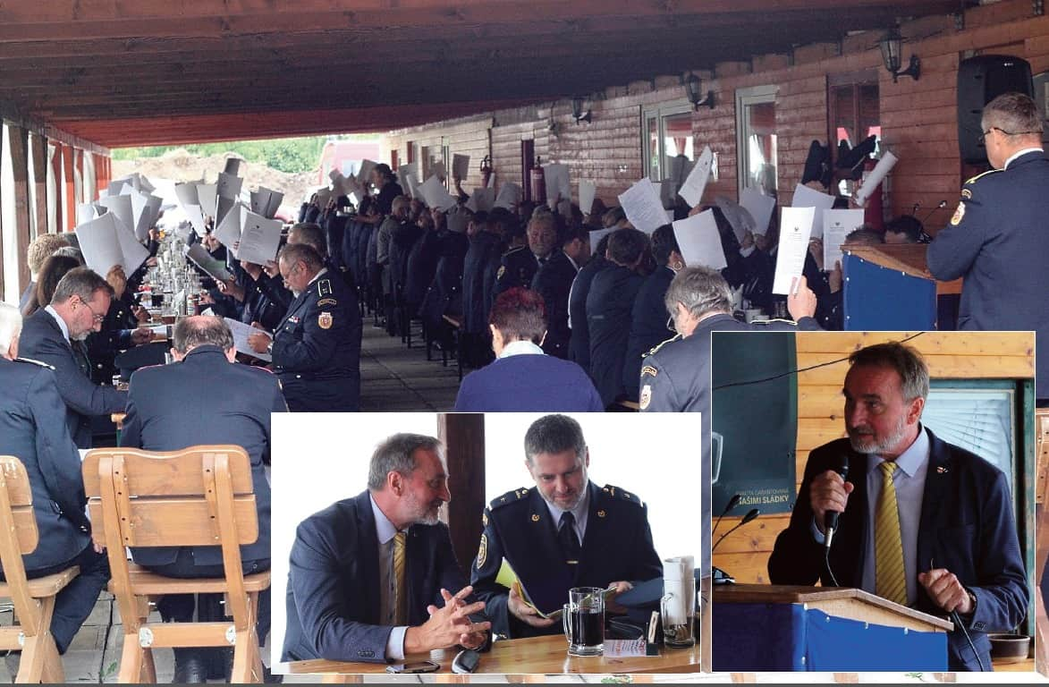 Okresní sdružení hasičů Rychnovska má nové vedení