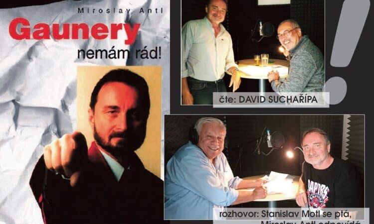 """Přináším svůj """"bestseller"""" (do """"cenzorského"""" zastavení prodeje jich bylo prodáno takřka 27.000) v podobě namluvené. Knihu skvěle čte náš kamarád herec David Suchařípa – a nepochybně ji svým nenapodobitelným hlasem zdokonalil. Však si knihu v jeho podání poslechněte Krimi audiokniha (stejně jako kniha :-)) Vám přináší hrůzné zločiny z divokých devadesátých let ve Východočeském kraji – a další příběhy z mého života…"""